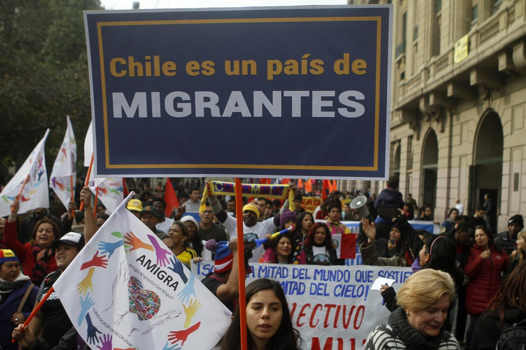 Resultado de imagen para chile migrantes